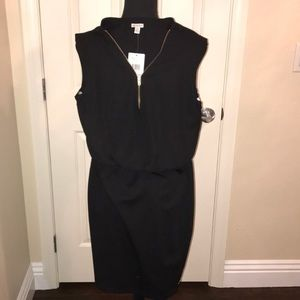 NWT Guess dress with gold colored zipper small